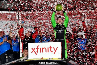 Yarış galibi Ross Chastain, Kaulig Racing, Chevrolet Camaro