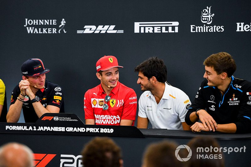 Sainz propone a Verstappen un plan alternativo