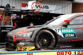 Jonathan Aberdein, Audi Sport Team WRT, Audi RS 5 DTM dopo l'incidente