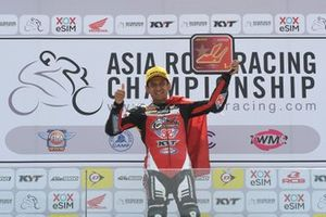 Podium AP250: winner Rafid Topan Sucipto, Bike Corner SYS KYT Racing Team