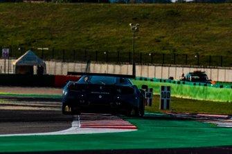 Валентино Росси на тестах Ferrari 488 GT3 команды Kessel Racing