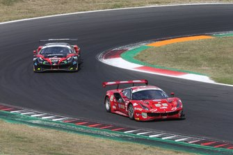 #27 Ferrari 488 Evo #27 GT3 PRO, Scuderia Baldini 27: Fisichella-Gai-Villeneuve