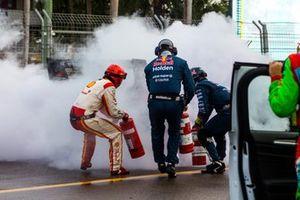 Возгорание Holden ZB Commodore Ника Перката, Brad Jones Racing