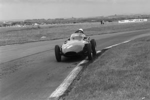 Stirling Moss, Vanwall y Tony Brooks, Vanwall