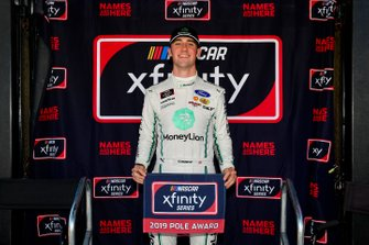 Austin Cindric, Team Penske, Ford Mustang MoneyLion wins the pole