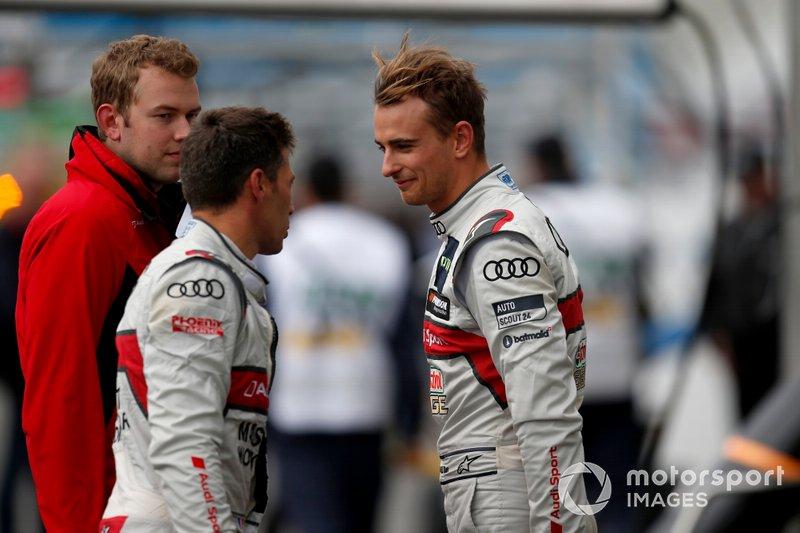 Nico Müller, Audi Sport Team Abt Sportsline, Loic Duval, Audi Sport Team Phoenix