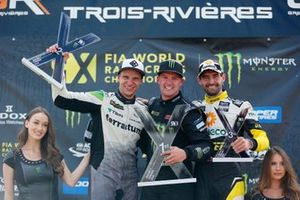Podium: Winner Andreas Bakkerud, Monster Energy RX Cartel, second place Janis Baumanis, STARD, third place Timur Timerzyanov, GRX Taneco