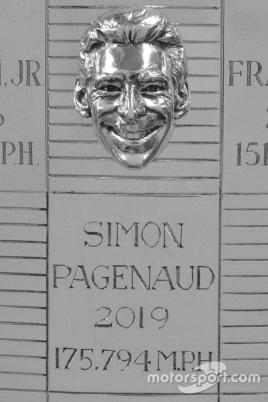 Simon Pagenaud Trofeo Borg-Warner