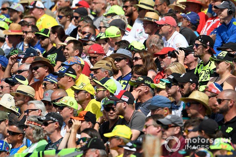 Pubblico alla gara del GP della Repubblica Ceca
