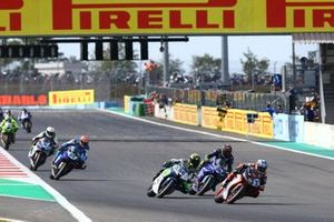 Supersport-Action in Magny-Cours