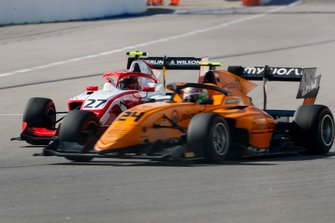 Jehan Daruvala, PREMA Racing and Alessio Deledda, Campos Racing