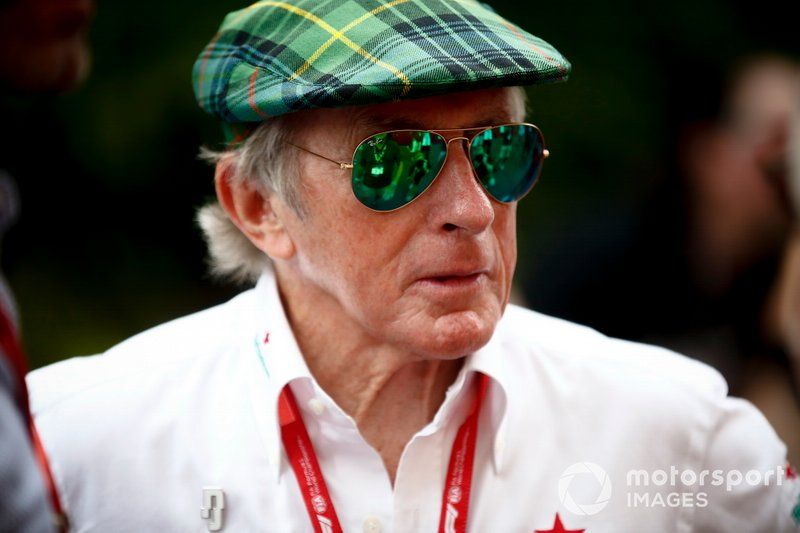 Sir Jackie Stewart, 3-time F1 Champion