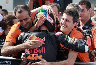 Race winner Brad Binder, KTM Ajo