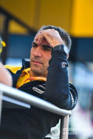 Cyril Abiteboul, Director General, Renault F1 Team