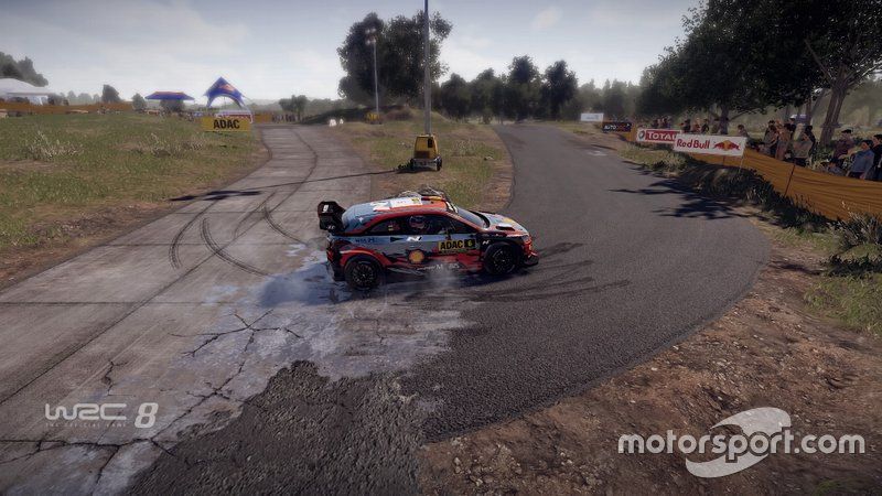 Screenshot WRC8
