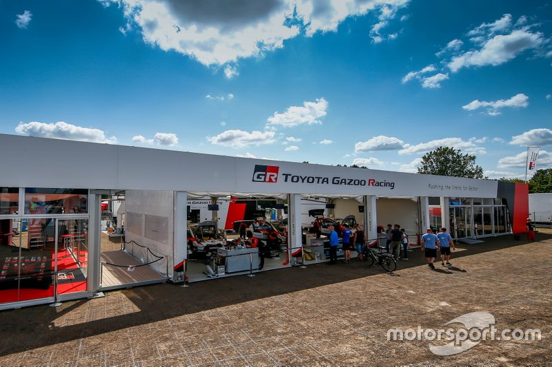 Toyota Gazoo Racing WRT team area