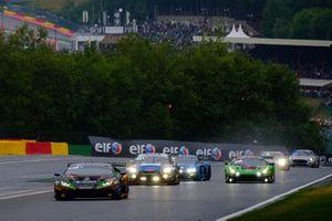 #555 Orange 1 FFF Racing Team Lamborghini Huracan GT3 2019: Michele Beretta, Taylor Proto, Diego Menchaca, Giacomo Altoè