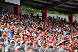 Fans fill up the grandstands