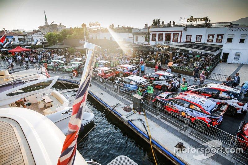 Los coches del WRC