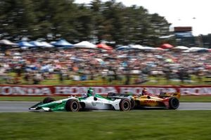 Colton Herta, Harding Steinbrenner Racing Honda, Ryan Hunter-Reay, Andretti Autosport Honda