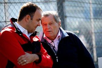 Thomas Biemaier, Audi Sport Team Abt met Norbert Haug