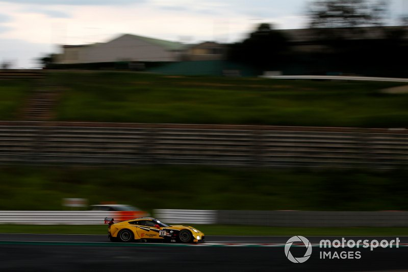 #37 Callaway Competition with BINGORACING Corvette C7 GT3-R: Shinji Takei, Ryo Ogawa, Markus Pommer