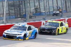 Ryan Preece, JTG Daugherty Racing, Chevrolet Camaro Scott Brand, Matt DiBenedetto, Wood Brothers Racing, Ford Mustang Menards/Monster Energy