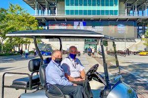Jean Todt, FIA President and Roger Penske