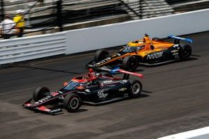 Will Power, Team Penske Chevrolet and Oliver Askew, Arrow McLaren SP Chevrolet