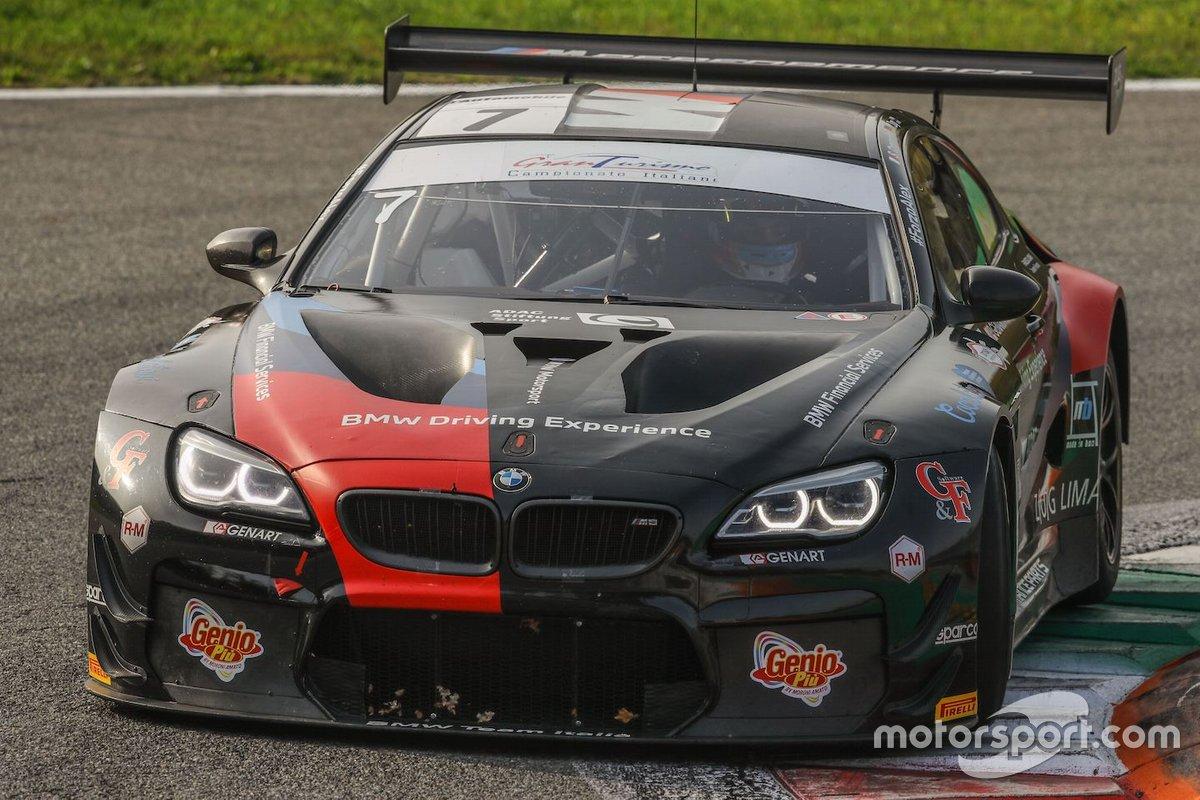 Stefano Comandini, Marius Zug, BMW M6 GT3, BMW Team Italia