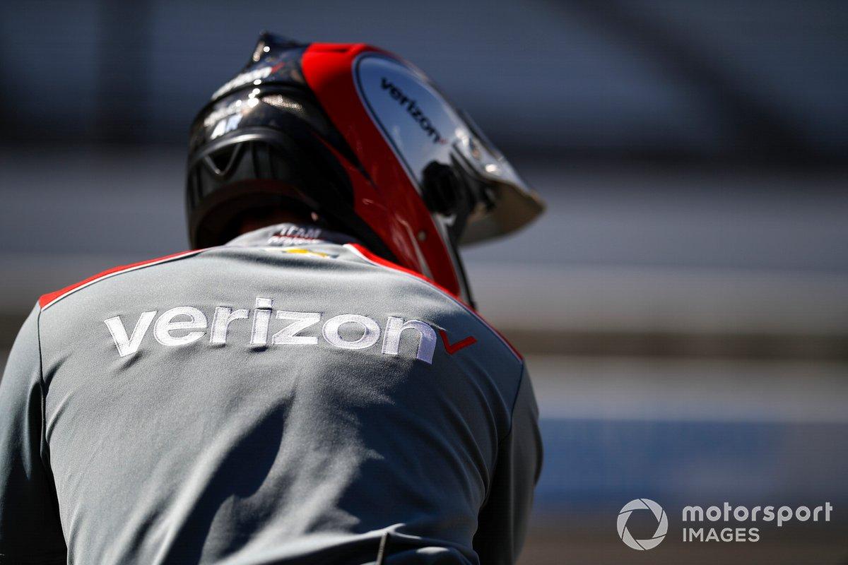 Will Power, Team Penske Chevrolet, Verizon Logo
