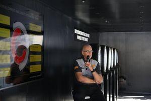 Stephen Rowe, capo sezione sviluppo prodotto Pirelli