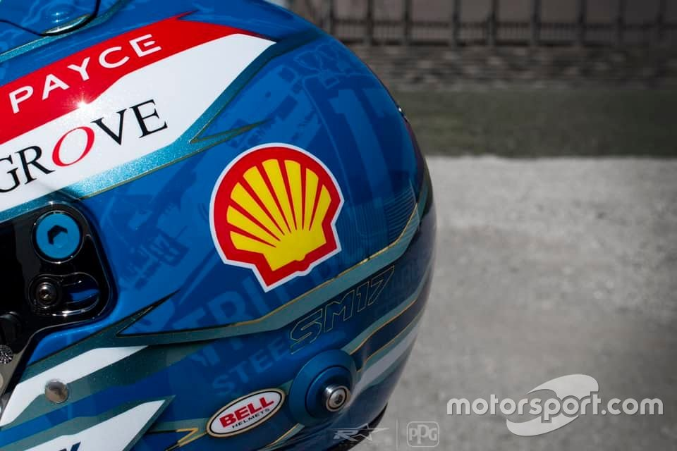 Scott McLaughlin's 2020 Bathurst 1000 helmet