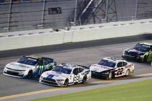 Chase Briscoe, Stewart-Haas Racing, Ford Mustang Ford Performance Racing School, Justin Haley, Kaulig Racing, Chevrolet Camaro LeafFilter Gutter Protection, Austin Cindric, Team Penske, Ford Mustang Odyssey Battery