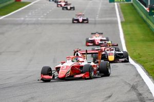 Logan Sargeant, Prema Racing and Liam Lawson, Hitech Grand Prix