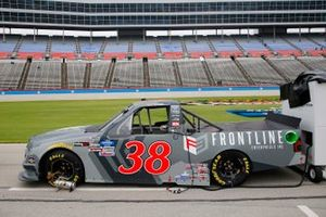 Todd Gilliland, Front Row Motorsports, Ford F-150 Frontline Enterprise Inc