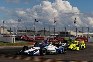 Renn-Action beim IndyCar-Finale 2020 in St. Petersburg