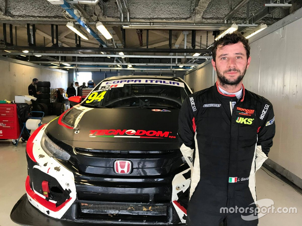 Jonathan Giacon, MM Motorsport, Honda Civic Type R TCR