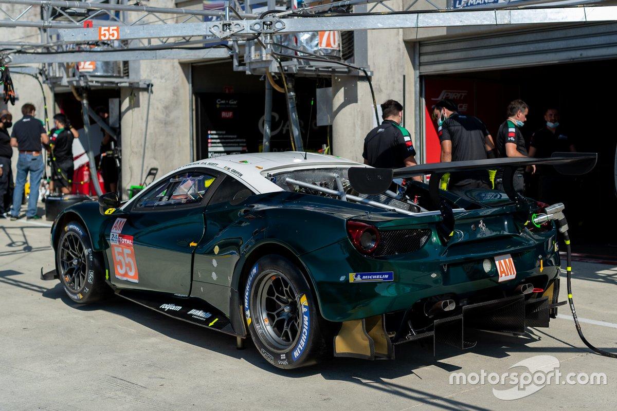 #55 Spirit of Race - Ferrari 488 GTE EVO: Duncan Cameron, Aaron Scott, Matthew Griffin
