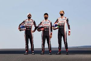 #8 Toyota Gazoo Racin: Sebastien Buemi, Kazuki Nakajima, Brendon Hartley