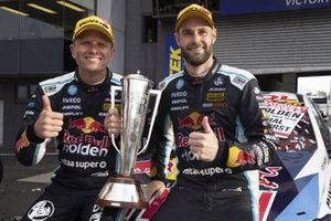 Race winners: Shane van Gisbergen, Garth Tander, Triple Eight Race Engineering Holden