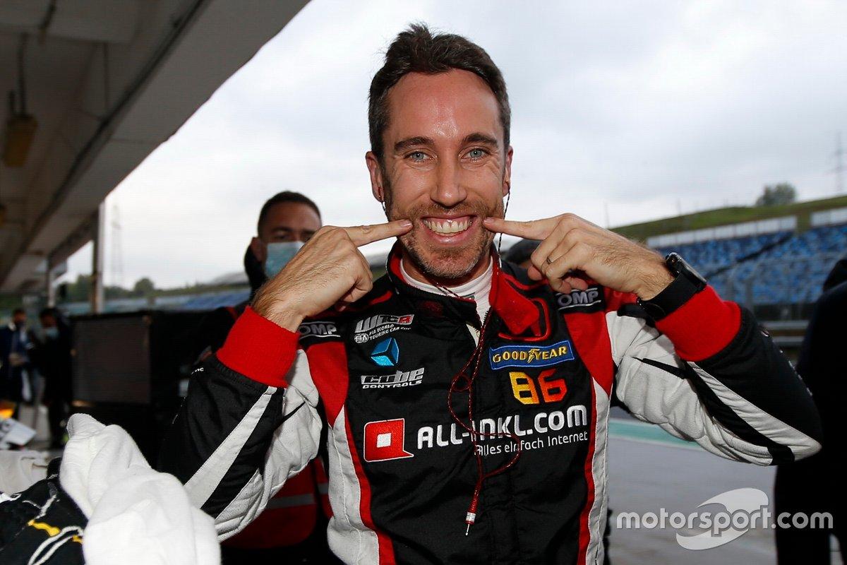 Pole sitter Esteban Guerrieri, ALL-INKL.COM Münnich Motorsport Honda Civic TCR