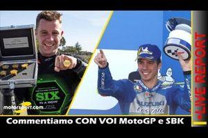 Cover Report Live MotoGP e SBK