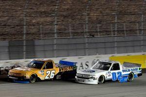 Tyler Ankrum, GMS Racing, Chevrolet Silverado Liuna! Tate Fogleman, Young's Motorsports, Chevrolet Silverado Solid Rock Carriers