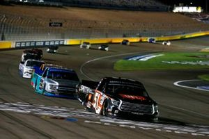 Chandler Smith, Kyle Busch Motorsports, Toyota Tundra JBL/Smith General Contracting, Ben Rhodes, ThorSport Racing, Ford F-150 Tenda Heal