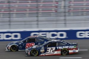 #32: Corey LaJoie, Go FAS Racing, Ford Mustang Trump 2020 #96: Daniel Suarez, Gaunt Brothers Racing, Toyota Camry Team USA Toyota