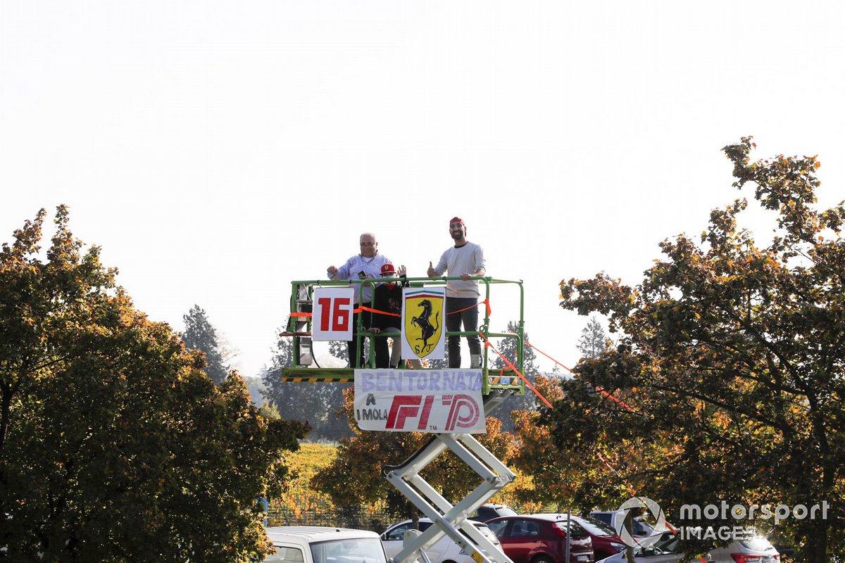 Fans en Imola