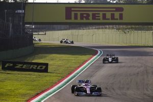 Lance Stroll, Racing Point RP20, Romain Grosjean, Haas VF-20