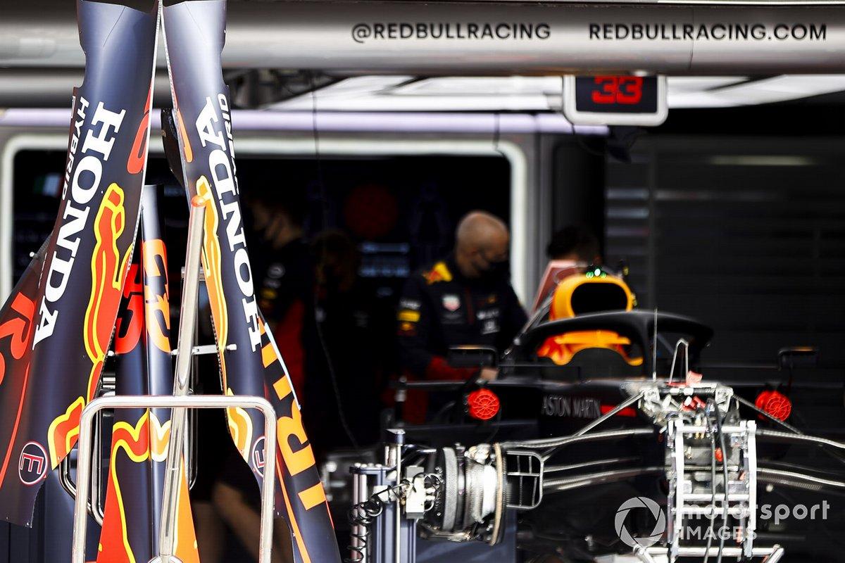 Carrocería del Red Bull RB16