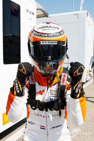 Pole sitter Larry ten Voorde, Team GP Elite